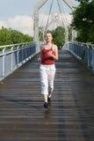 Sport girl Stock Image