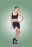 Sport girl of Asian Royalty Free Stock Images