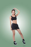 Sport girl of Asian Royalty Free Stock Image