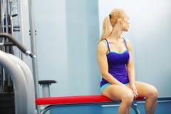 Sport girl Stock Images
