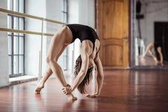 Sport girl on training Royalty Free Stock Photo
