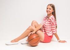 Sport girl Stock Photography