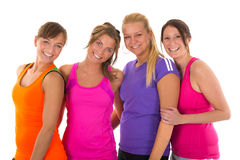 Sport girls Stock Photography