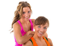 Sport girls Royalty Free Stock Photography