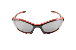 Sport glasses isolated stock image