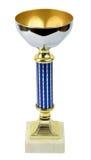Sport golden trophy Royalty Free Stock Images