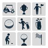 Sport golf club Royalty Free Stock Photo