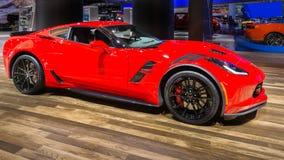2018 sport grand de Chevrolet Corvette, NAIAS Images stock