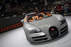 Sport grand Vitesse de Veyron Photos stock