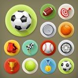 Sport, gry i czas wolny, ilustracja wektor