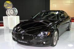 Sport GTS di Maserati Quattroporte Fotografie Stock