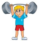 Sport and gym theme 7 Stock Images