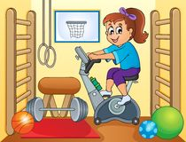 Sport and gym topic image 2 Stock Images
