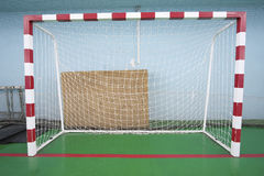Sport hall for soccer or handball Royalty Free Stock Photo