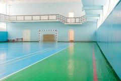 Sport hall for soccer or handball Royalty Free Stock Photography