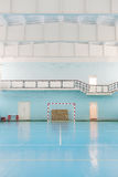Sport hall for soccer or handball Royalty Free Stock Images