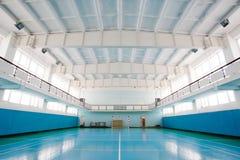 Sport hall for soccer or handball Stock Photo