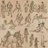 Sport - An hand drawn vector pack. Stock Photos