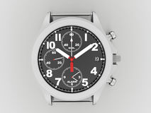 Sport hand watch rendered on dark Stock Image