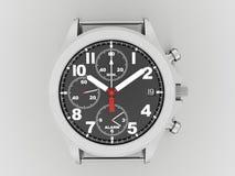 Sport hand watch rendered on dark Stock Image
