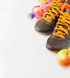Sport and healthy eating Stock Photos