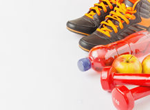 Sport and healthy eating Stock Photography