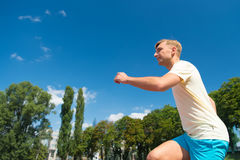 Sport and healthy fitness. Stock Image