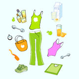 Sport and healthy lifestyle Stock Image