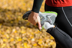 Sport and healthy lifestyle concept Stock Photography