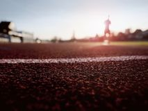Sport and healthy lifestyle concept, man jogging Royalty Free Stock Image