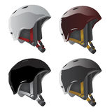 Sport helmet vector. Sport helmet, cap illustration vector Stock Photography
