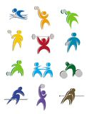 Sport Icon Design stock photos