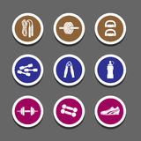 Sport icon great for any use. Vector EPS10. Royalty Free Stock Image
