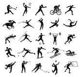 Sport Icon Set Royalty Free Stock Image