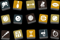 Sport Icon Set royalty free illustration