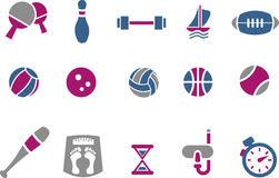 Sport Icon Set stock illustration
