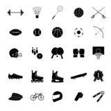 Sport icon  set 1 Royalty Free Stock Photos