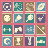 Sport icon royalty free illustration