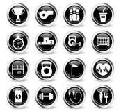 sport icon set Stock Photography