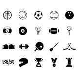 Sport Icon set. For your design Stock Photo