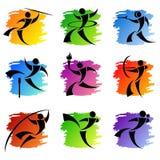 Sport icons Stock Image