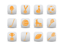 Sport icons Stock Image