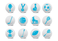 Sport icons Stock Photo