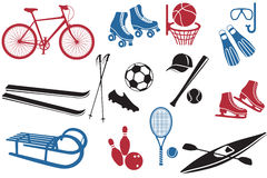 Sport Icons Collection Stock Photo