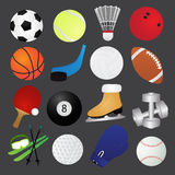 Sport Icons Collection Stock Photography