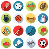 Sport icons collection Royalty Free Stock Image