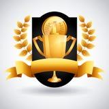 Sport icons design Stock Image
