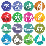 Sport icons set Royalty Free Stock Image