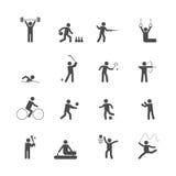 Sport icons set Stock Photo