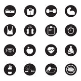 Sport icons set03 Royalty Free Stock Images